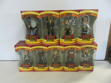 """LORD OF THE RINGS Bobbleheads COMPLETE Set of 9 Figures 8"""" - Upper Deck NIB!"""