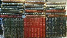 Vintage Faux Leather Gilt Classic Books x 31. You Approve before shipping.