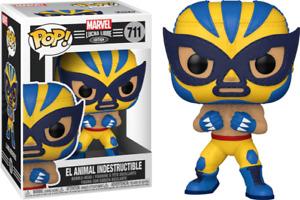 Funko POP! Marvel Lucha Libre #711 El Animal Indestructible [In Pop Protector]