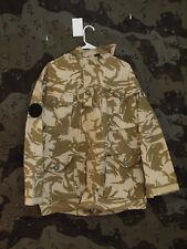 British Army Soldier 95 Desert DPM Camo SAS Windproof Parka Jacket, Size 170/104
