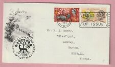 G.B FDC, First day cover, National nature week 1963 Phosphor, Liverpool