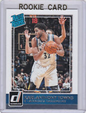 KARL-ANTHONY TOWNS ROOKIE CARD Minnesota Timberwolves 2015 Donruss RATED RC!