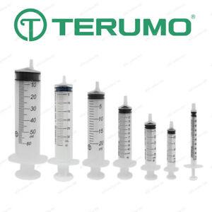 TERUMO Sterile Syringes Hypodermic Luer Slip - 1ml 2.5ml 5ml 10ml 20ml 30ml 50ml