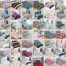 2/3 tlg Renforce Bettwäsche 100% Baumwolle Bettgarnitur Bettbezug Reißverschluss