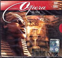 2 CD + 1 Dvd Box Set Cofanetto «GIUSEPPE VERDI ♫ AIDA» nuovo sigillato