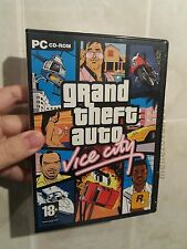 GTA Grand Theft Auto: Vice City - for PC CD WINDOWS - BRAND NEW FACTORY SEALED