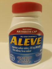 Aleve Pain Reliever/Fever Reducer Naproxen Sodium 220mg Caplets 270 Caplets