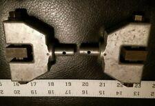 "Tensile Test Grips 1"" Steel Faces Instron Zwick TMI"