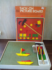 VINTAGE GALT TACK ON PICTURE BOARD Wooden Creative Craft TOY