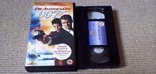 JAMES BOND 007 DIE ANOTHER DIE MGM UK PAL VHS VIDEO 2003 Pierce Brosnan