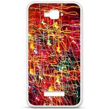 Coque housse étui tpu gel motif lights Alcatel One Touch Pop C7