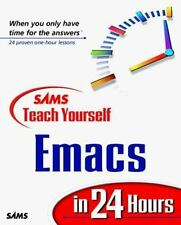 Sams Teach Yourself Emacs in 24 Hours-ExLibrary