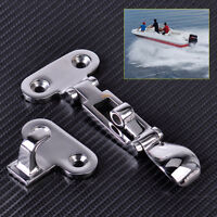 New Stainless Steel Boat Marine Hatch Locker Anti-Rattle Latch Fastener Clamp