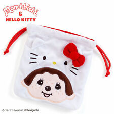 SANRIO HELLO KITTY & MONCHHICHI SERIES DRAWSTRING MAKEUP COSMETIC BAG 324094N