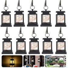 1/2/10 Pack Solar Lantern Hanging Lamp Led String Fairy Garden Light Warm White