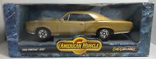 ERTL AMERICAN MUSCLE 1966 PONTIAC GTO GOLD 1:18 SCALE DIE CAST!  FREE SHIPPING