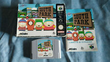 SOUTH PARK per NINTENDO 64 N64 Boxed Pal