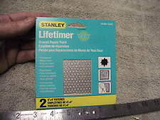 "Stanley Lifetimer Repair Patches, 2 4x4"" patches"
