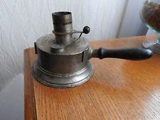 LE SAUVEUR PIGEON N°1 - Ancien réchaud feutre à alcool lampe lanterne old stove