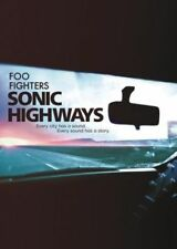 FOO FIGHTERS (SONIC HIGWAYS - 4 DISC DVD SET SEALED + FREE POST)