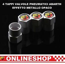 Nero 4 X ARGENTO CROMATO TAPPI Polvere Valvola Pneumatico si adatta Mazda