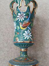 HB Quaregnon Jarrón de cerámica vintage