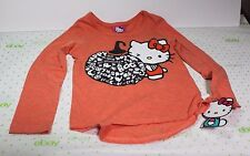 Hello Kitty HALLOWEEN Size  XSmall  4/5 Pumpkin Boo SHIRT