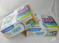 Verbatim BD-R DL blu ray 50GB dual layer 4x 6x 50Gb 20 Pack Japan
