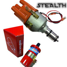 VW Beetle & Camper Stealth Electronic Distributor as Bosch 009 + SPORTS COIL