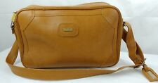 Vintage INVICTA Brown Carry On Leather Bag