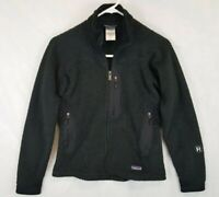 Patagonia Womens R2 Regulator Fleece Jacket Black Sz S Small Retool