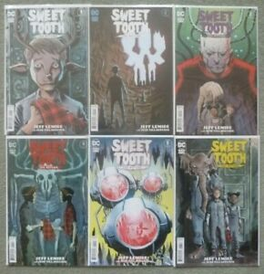 SWEET TOOTH:THE RETURN #1-6 SET..JEFF LEMIRE..DC/BLACK LABEL 2021 1ST PRINT..NM