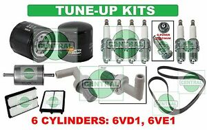 TUNE UP KITS 98-02 SLX PASSPORT AMIGO AXIOM RODEO: SPARK PLUGS BELT & FILTERS