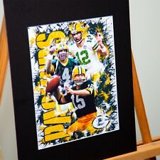 Green Bay Packers - Bart Starr #15 Brett Favre #4 Aaron Rodgers #12