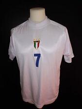 maillot de football replica DEL PIERO Italie N°7 Blanc Taille L