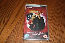 BBC Doctor Who Volume 1 Rose The End of the World The Unquiet Dead PSP UMD NEW