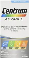 Centrum Advance Multivitamins 100 Tablets