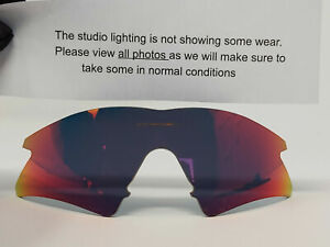 Oakley M Frame Sweep Red Authentic Replacement Lenses A&S