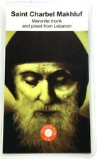 Saint Charbel Makhluf Relic Card Patron of Maronite Monk and Priest Lebanon