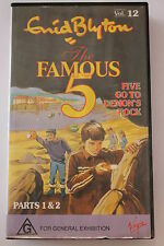 The Famous Five Vol 12- Enid Blyton -CLASSIC RARE VHS PAL  'AS NEW'