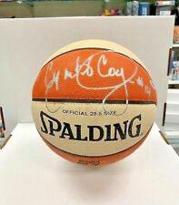 Cynthia Cooper Signed WNBA I/O Basketball PSA/DNA Comets D03434