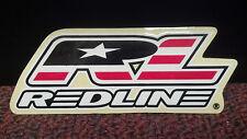 REDLINE BIKE, Sticker, USA, AMERICAN MADE, 3-1/4 X  1-5/8