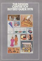 (C#3036) 1978 DESIGN CENTRE catalog TOYS