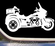 Motorcycle Decal For Ultra Trike Riders, Decal-Sticker SK-HAR-M-1