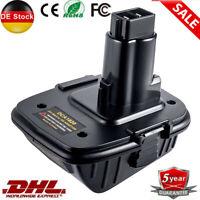 Für Dewalt DCA1820 20V auf 18V Akku Adapter Konverter Für Dewalt MAX Li-Ion AKKU