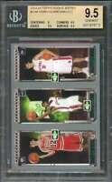Lebron James Rookie 2003-04 Topps Rookie Matrix #Hjm BGS 9.5 (9 9.5 9.5 9.5)
