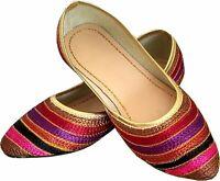 Rajasthani Women jutti Ethnic Traditional Punjabi Jutti Mojari Flip Flop