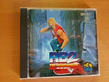 REAL BOUT 2 THE NEWCOMERS SNK NEOGEO NEO GEO CD