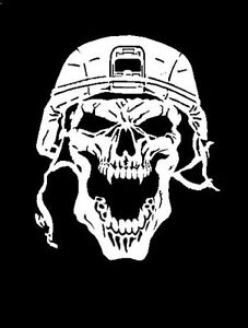 high detail airbrush stencil  skull   FREE UK POSTAGE