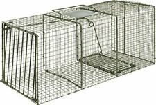 Heavy Duty X-Large Animal Cage Trap w/ Strong Built Door for Raccoon & Rodents